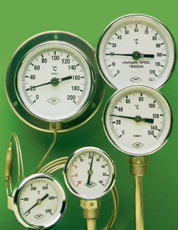 inert gas thermometers