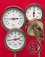stainless steel bimetal thermometers - ATEX construction