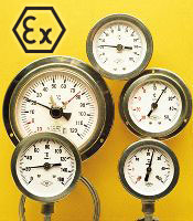 inert gas thermometers - ATEX construction